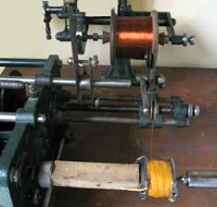 Machine pour le bobinage -